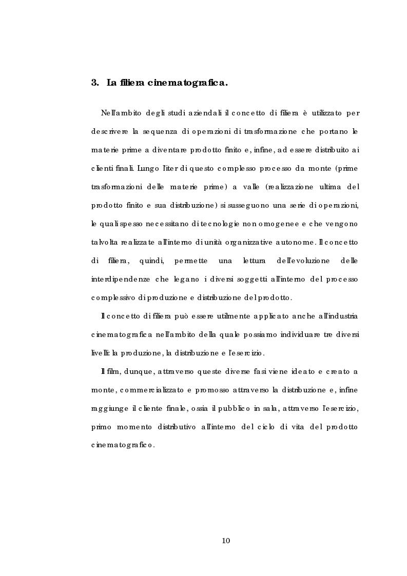 Anteprima della tesi: Problematiche gestionali delle imprese di produzione cinematografica, Pagina 14