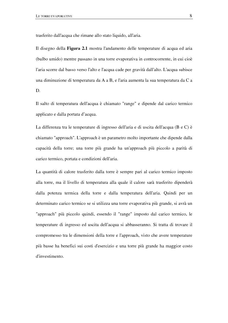 Anteprima della tesi: Calcolo delle prestazioni di torri evaporative con dispositivo anti pennacchio, Pagina 5