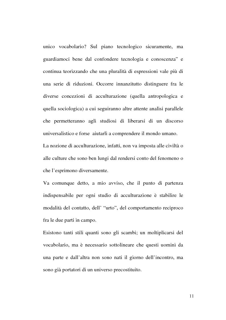 Anteprima della tesi: Il cinema del metissage, Pagina 11
