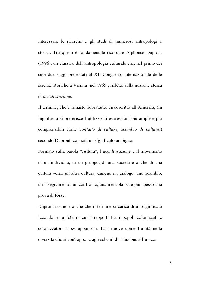 Anteprima della tesi: Il cinema del metissage, Pagina 5