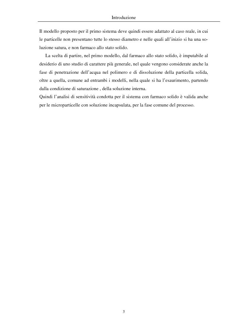 Anteprima della tesi: Fenomeni di trasporto in carrier farmaceutici, Pagina 3