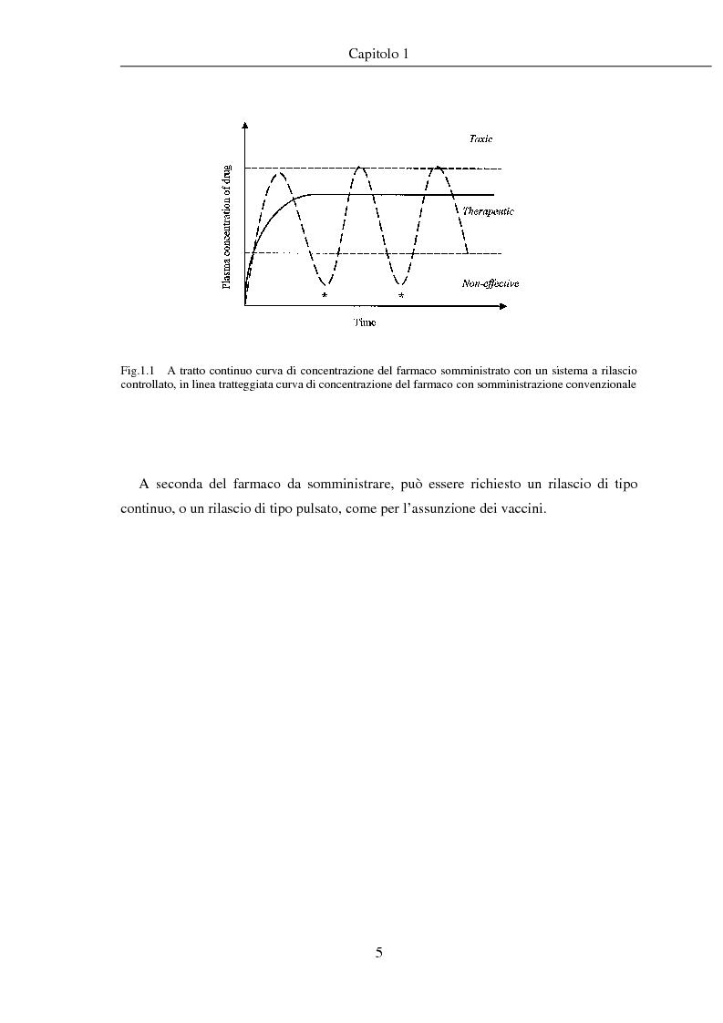Anteprima della tesi: Fenomeni di trasporto in carrier farmaceutici, Pagina 5