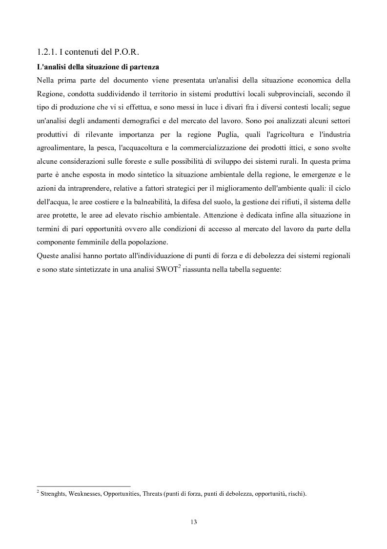 Anteprima della tesi: La Montagna del Sole: proposte per la destagionalizzazione del turismo e la valorizzazione del promontorio del Gargano, Pagina 13