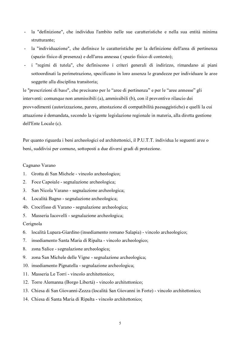 Anteprima della tesi: La Montagna del Sole: proposte per la destagionalizzazione del turismo e la valorizzazione del promontorio del Gargano, Pagina 5