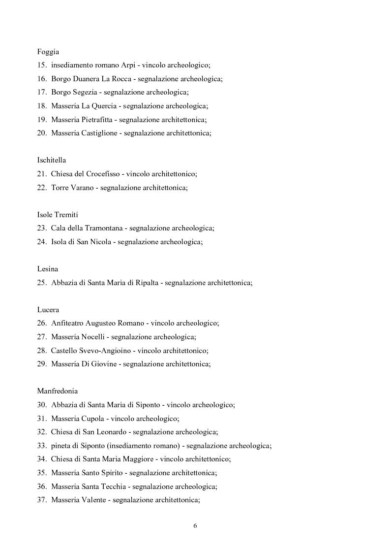 Anteprima della tesi: La Montagna del Sole: proposte per la destagionalizzazione del turismo e la valorizzazione del promontorio del Gargano, Pagina 6
