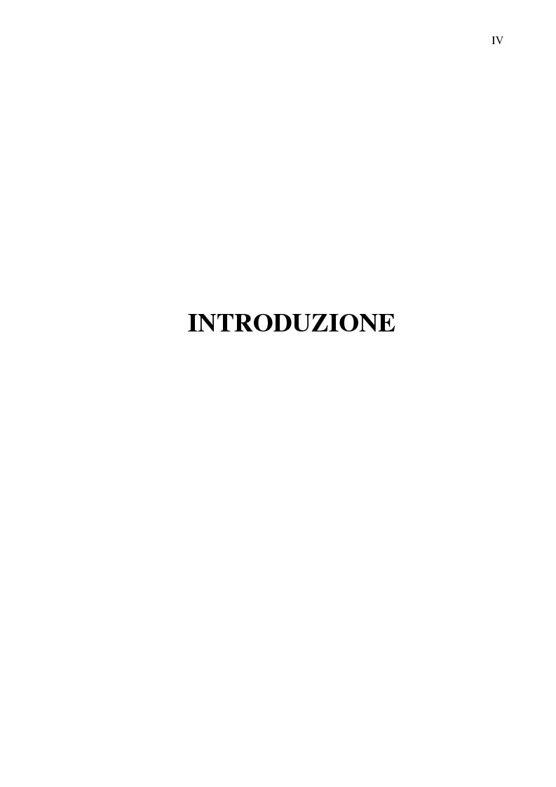 Anteprima della tesi: La crisi del calcio italiano: dal caso Lentini al decreto salva-calcio, Pagina 1