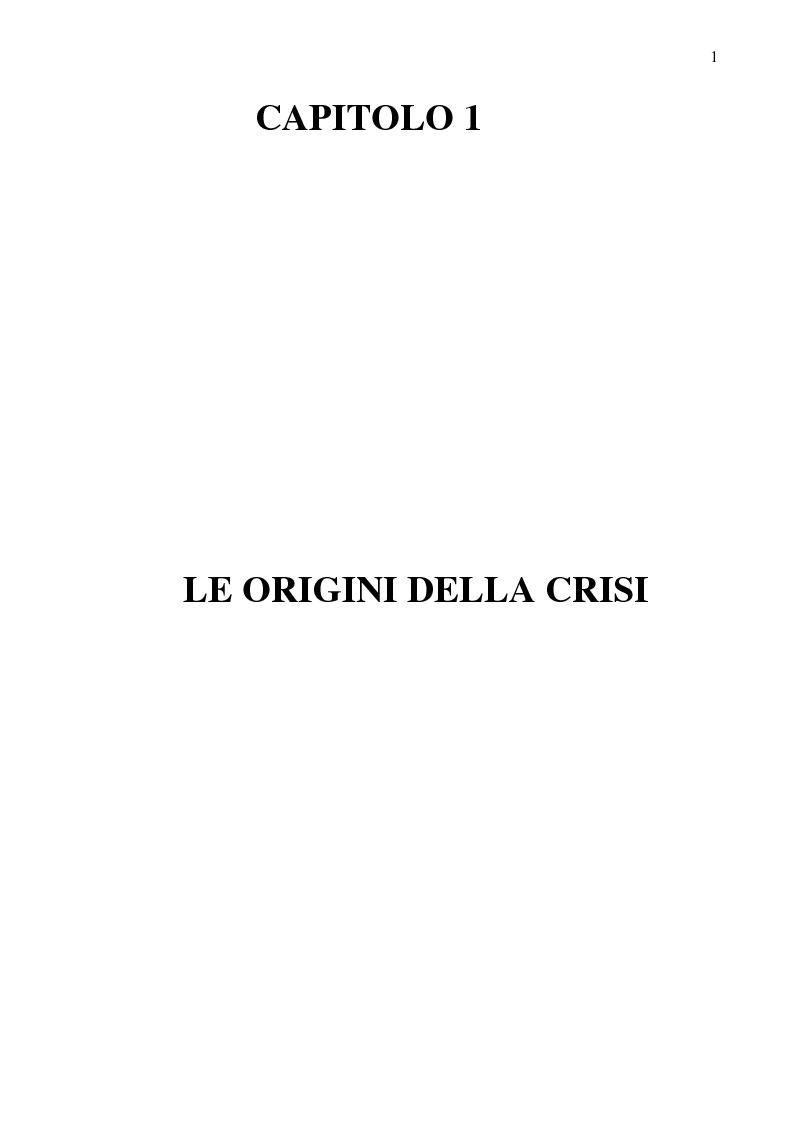 Anteprima della tesi: La crisi del calcio italiano: dal caso Lentini al decreto salva-calcio, Pagina 5