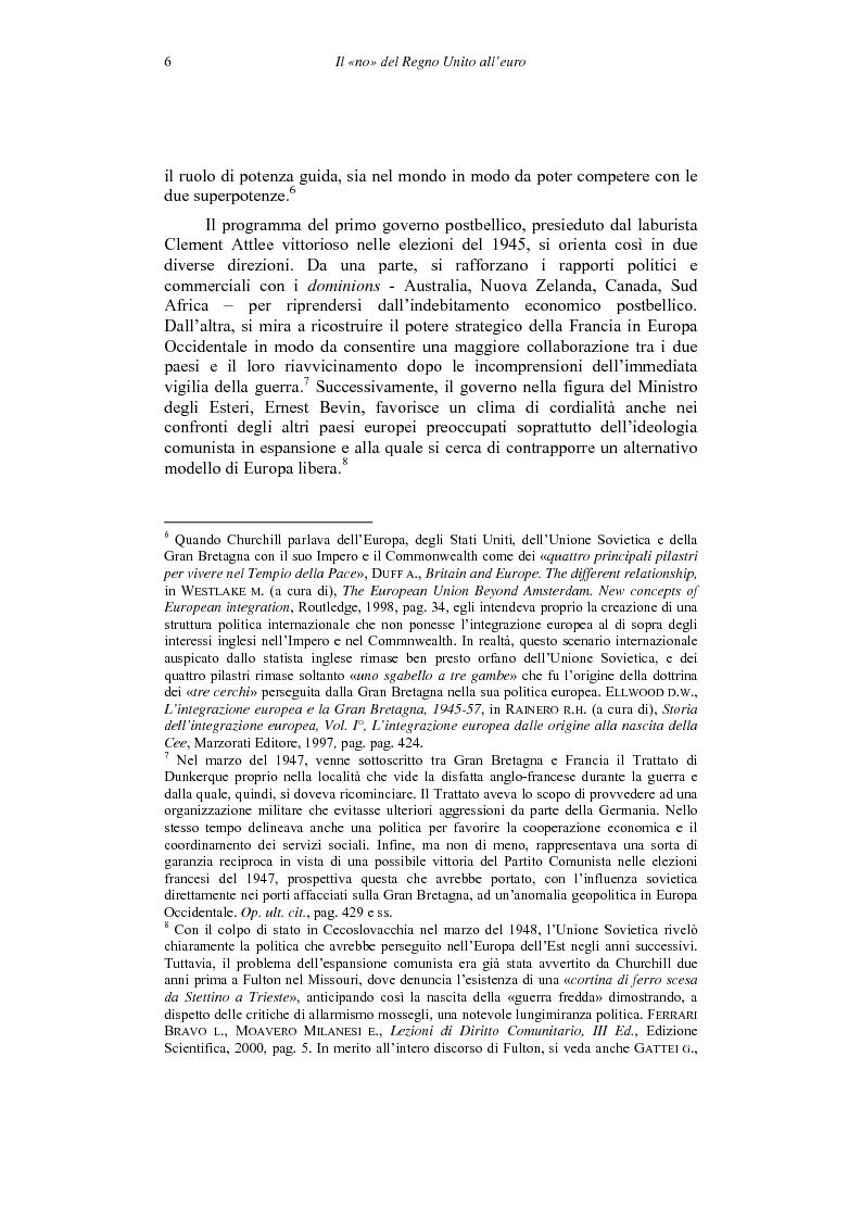 Anteprima della tesi: Il ''no'' del Regno Unito all'euro, Pagina 6