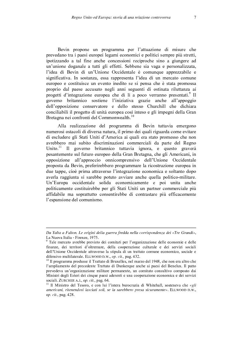 Anteprima della tesi: Il ''no'' del Regno Unito all'euro, Pagina 7