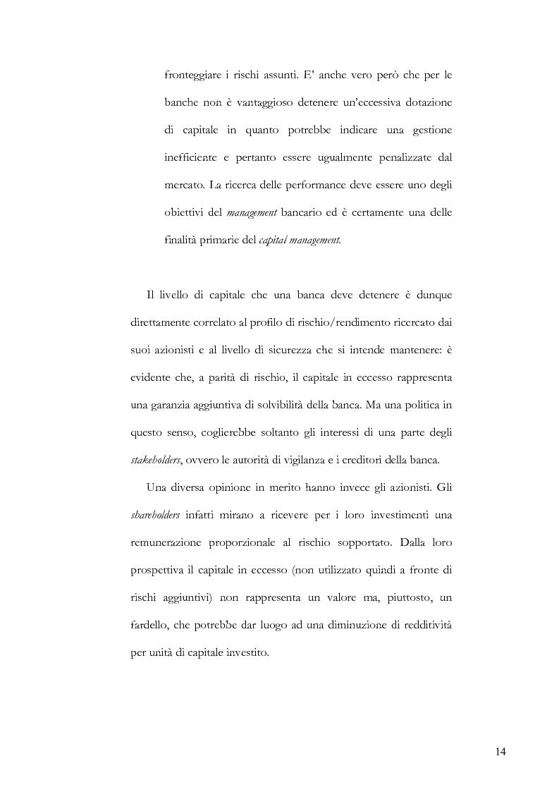 Anteprima della tesi: La gestione del capitale come mezzo per la creazione di valore per gli azionisti, Pagina 9