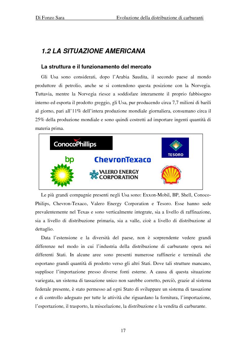 Anteprima della tesi: Evoluzione della distribuzione di carburanti, Pagina 11
