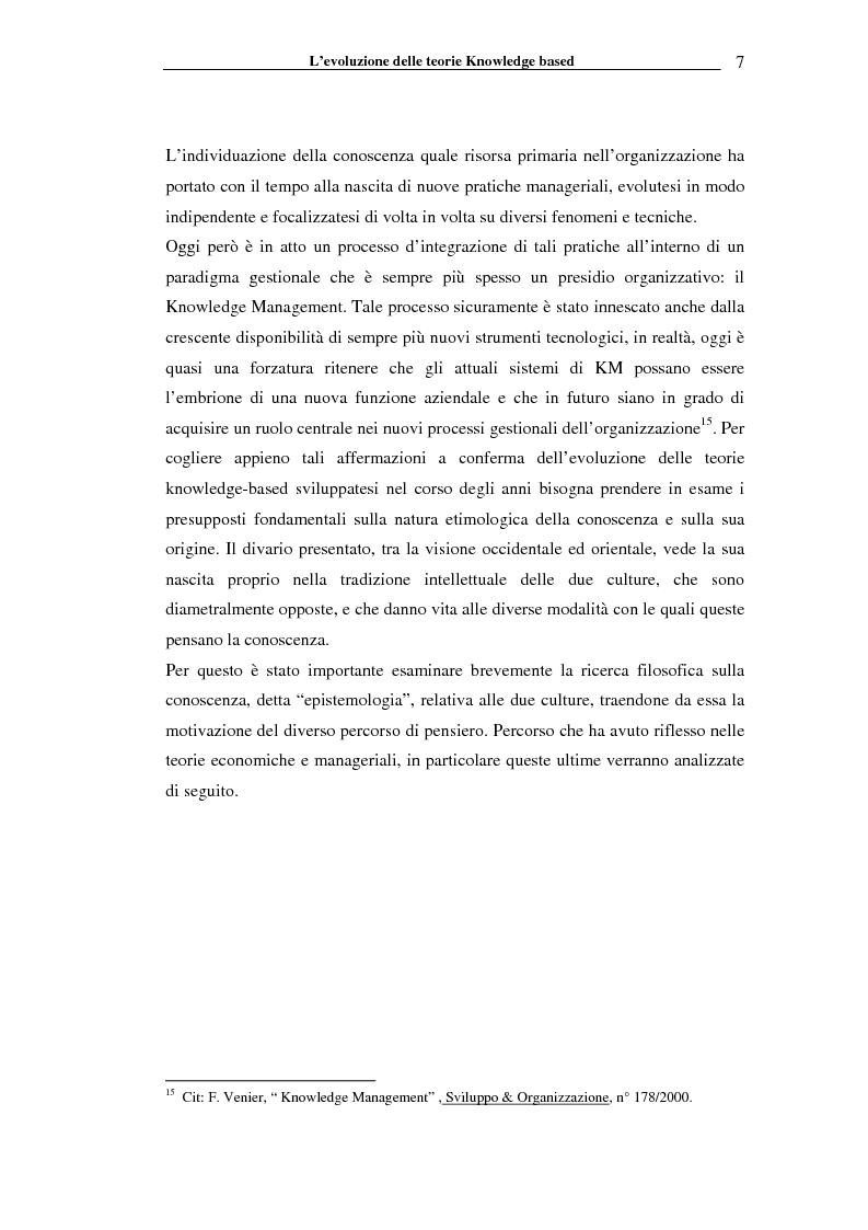 Anteprima della tesi: I sistemi informativi a supporto della gestione della conoscenza negli enti di ricerca: il caso ENEA, Pagina 12