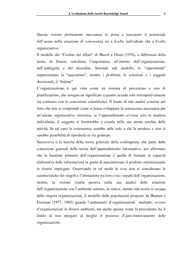 Anteprima della tesi: I sistemi informativi a supporto della gestione della conoscenza negli enti di ricerca: il caso ENEA, Pagina 14