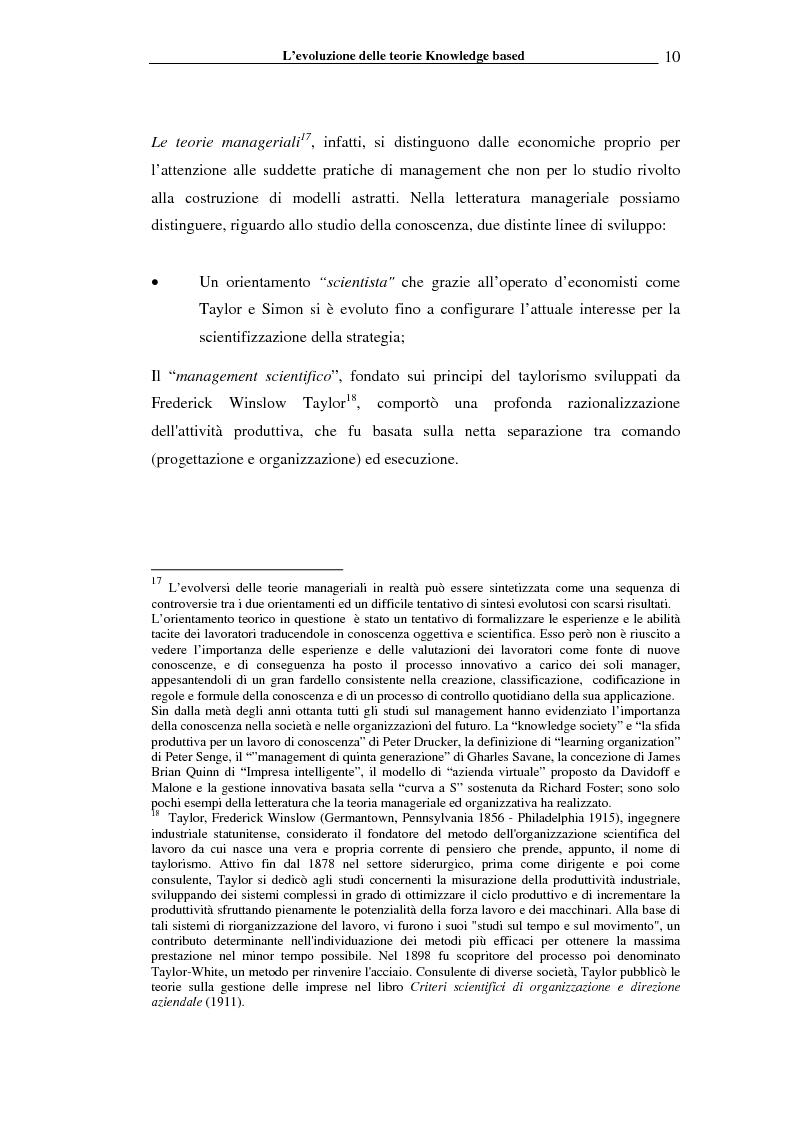 Anteprima della tesi: I sistemi informativi a supporto della gestione della conoscenza negli enti di ricerca: il caso ENEA, Pagina 15