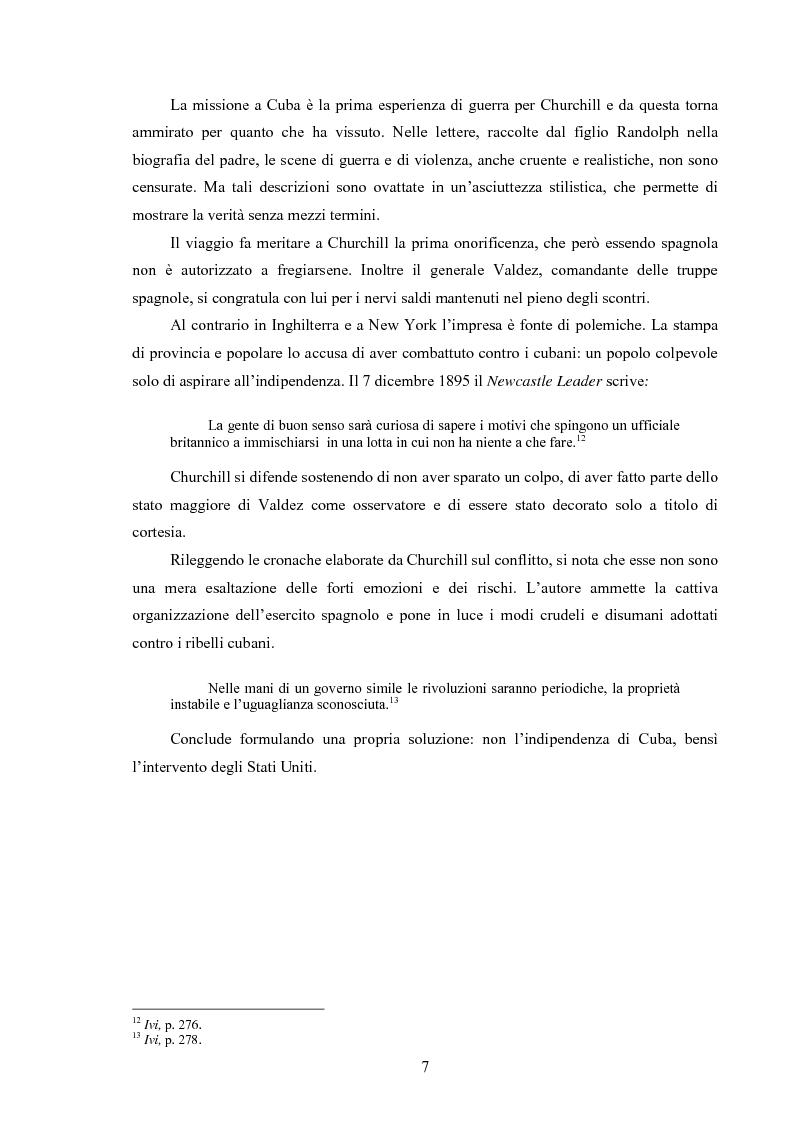 Anteprima della tesi: Winston S. Churchill: ritratto in chiaroscuro. La carriera politica attraverso la storiografia critica, Pagina 10