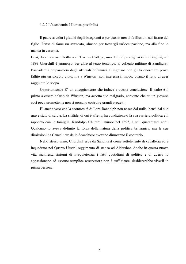 Anteprima della tesi: Winston S. Churchill: ritratto in chiaroscuro. La carriera politica attraverso la storiografia critica, Pagina 6
