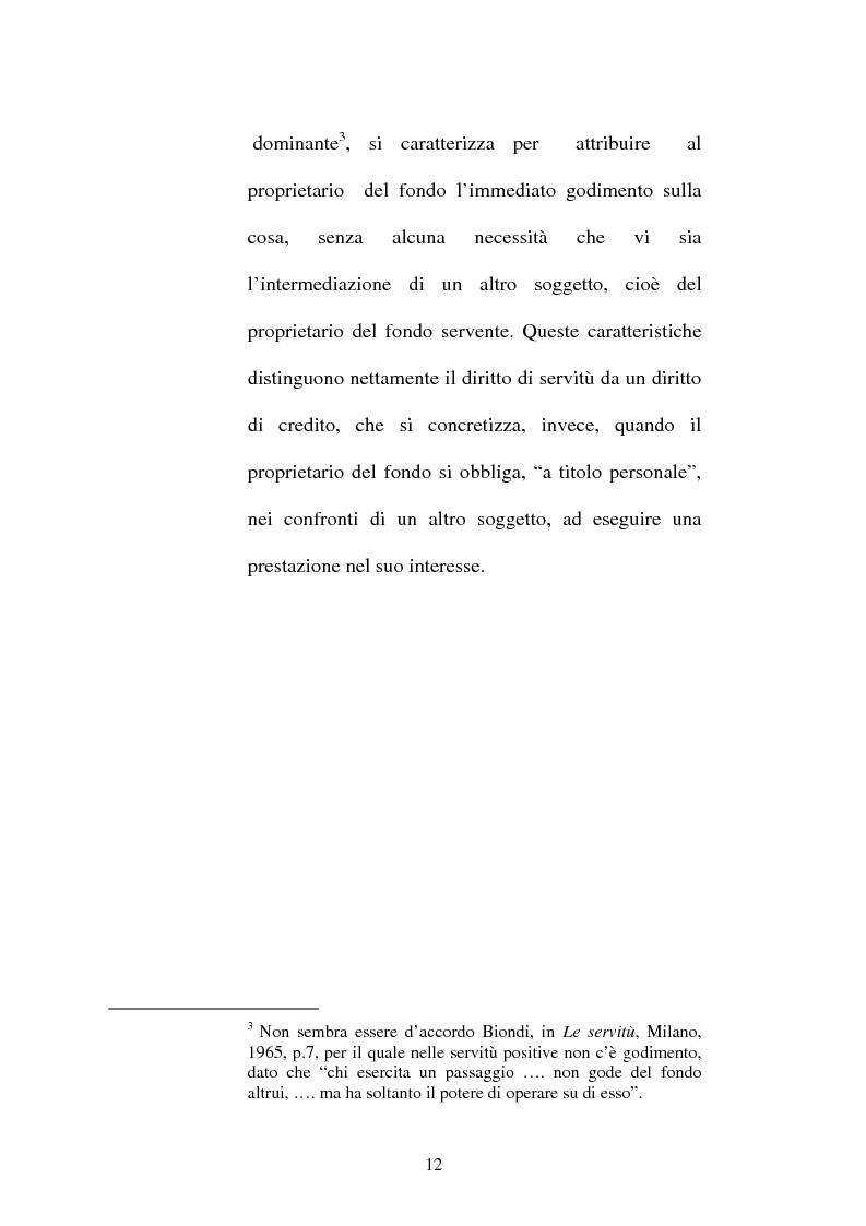 Anteprima della tesi: Le servitù atipiche, Pagina 13