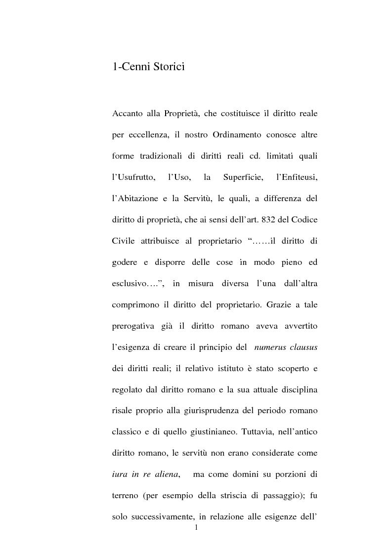 Anteprima della tesi: Le servitù atipiche, Pagina 2
