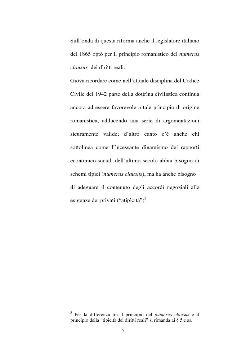 Anteprima della tesi: Le servitù atipiche, Pagina 6