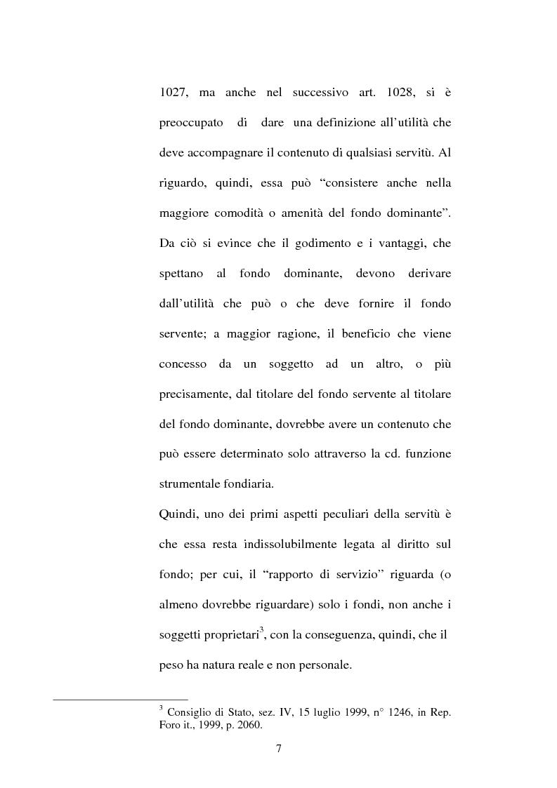 Anteprima della tesi: Le servitù atipiche, Pagina 8