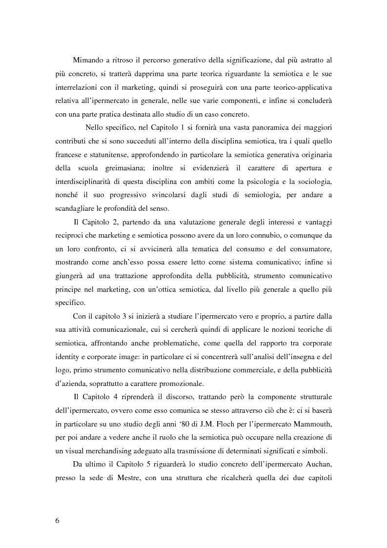 Anteprima della tesi: L'ipermercato tra marketing e semiotica, Pagina 2