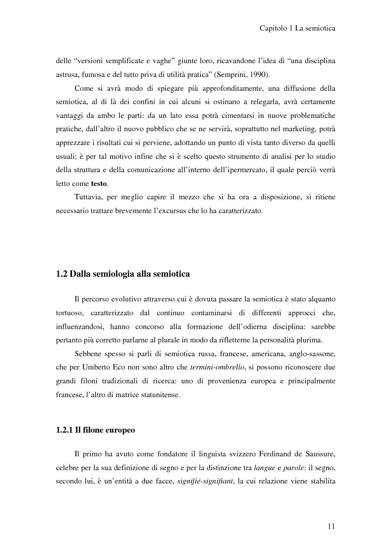 Anteprima della tesi: L'ipermercato tra marketing e semiotica, Pagina 6
