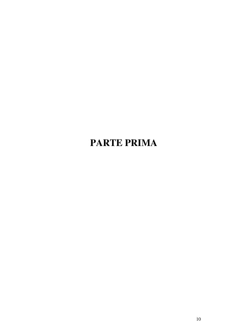 Anteprima della tesi: I procedimenti e gli istituti finalizzati allo sviluppo economico: i patti territoriali e i PIT, Pagina 10