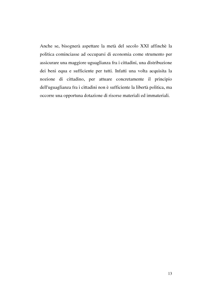 Anteprima della tesi: I procedimenti e gli istituti finalizzati allo sviluppo economico: i patti territoriali e i PIT, Pagina 13