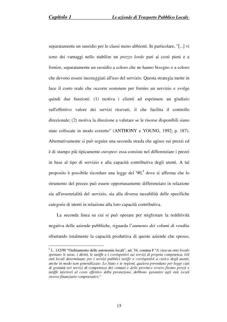 Anteprima della tesi: Cooperazione e Competizione nel Trasporto Pubblico Locale: il Caso Metronapoli, Pagina 10