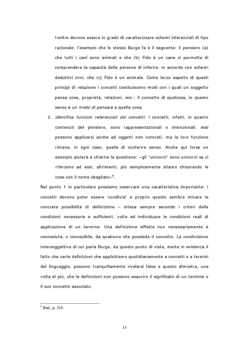 Anteprima della tesi: Concetti, similarità e teoria: verso il modello ibrido, Pagina 13