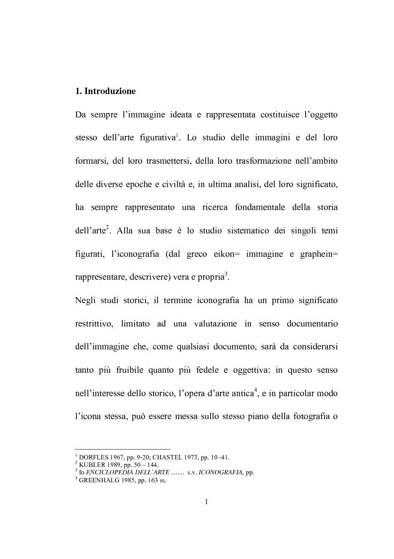Anteprima della tesi: I programmi iconografici nell'arte cristiana dal tardo antico all'alto medioevo, Pagina 1