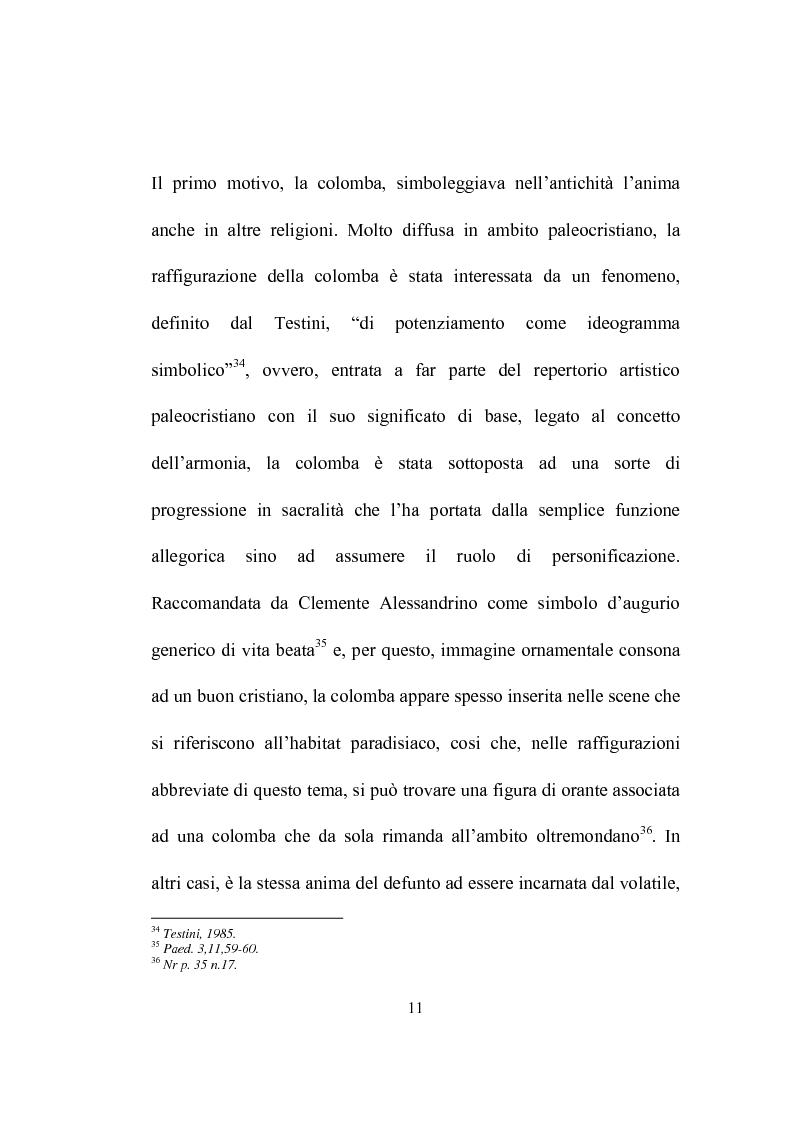 Anteprima della tesi: I programmi iconografici nell'arte cristiana dal tardo antico all'alto medioevo, Pagina 11