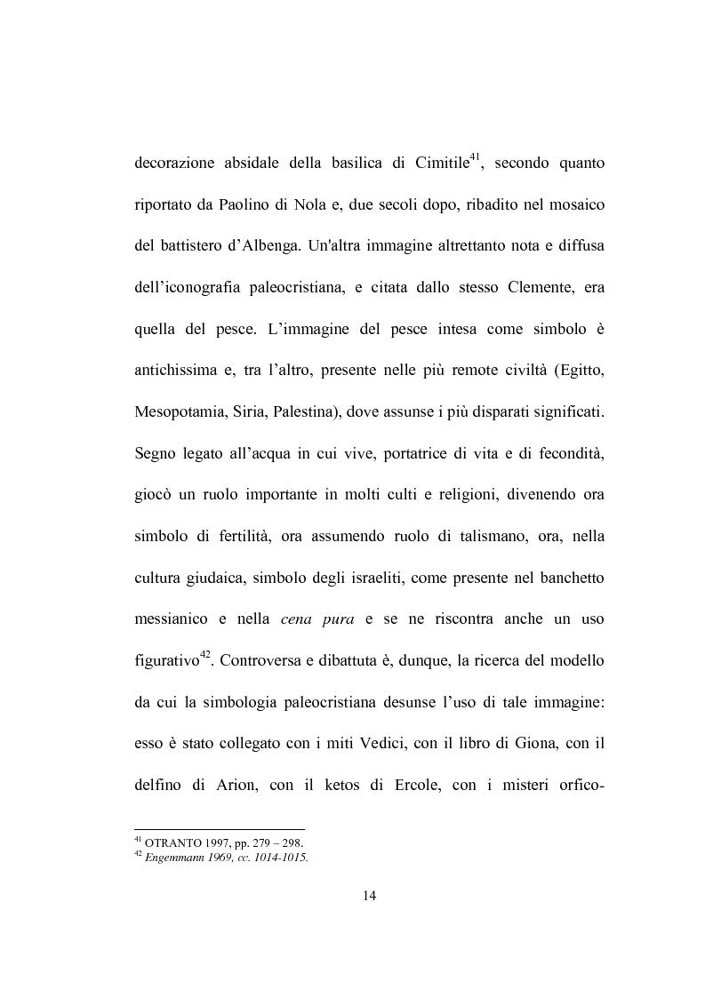 Anteprima della tesi: I programmi iconografici nell'arte cristiana dal tardo antico all'alto medioevo, Pagina 14