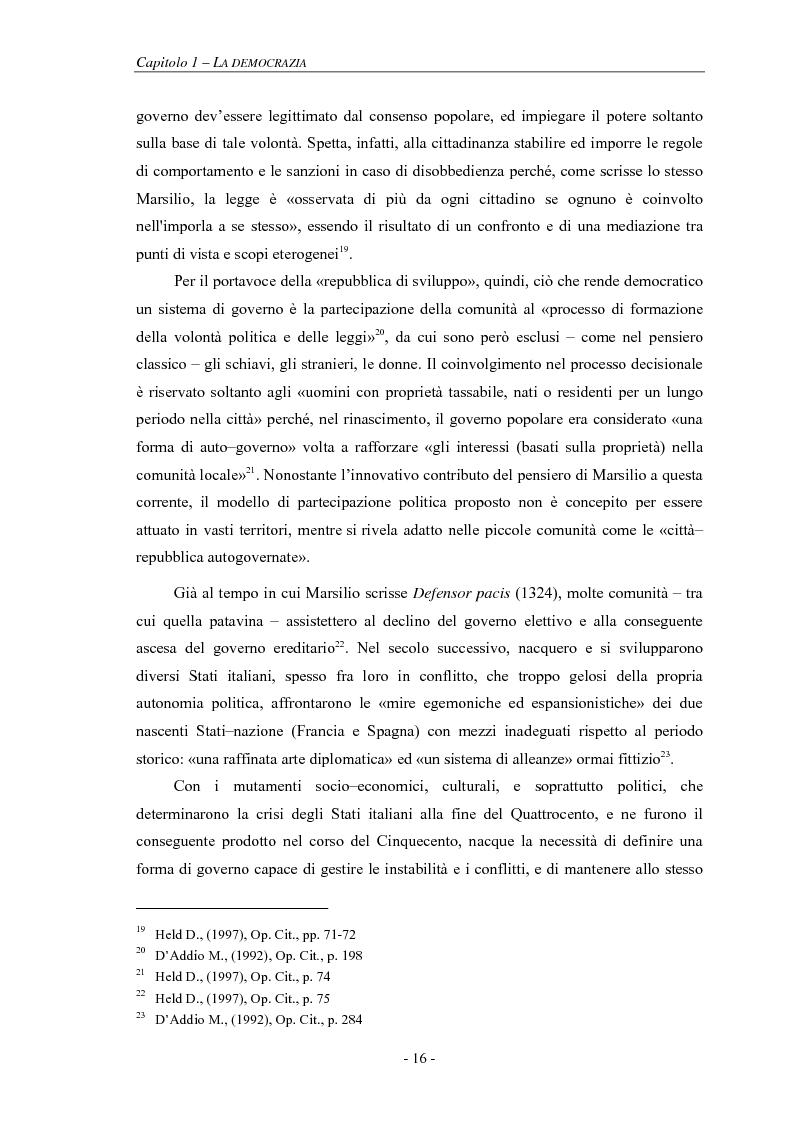 Anteprima della tesi: La pianificazione partecipativa: teorie e tecniche. Un esempio di integrazione di diversi strumenti: GioCoMo., Pagina 13