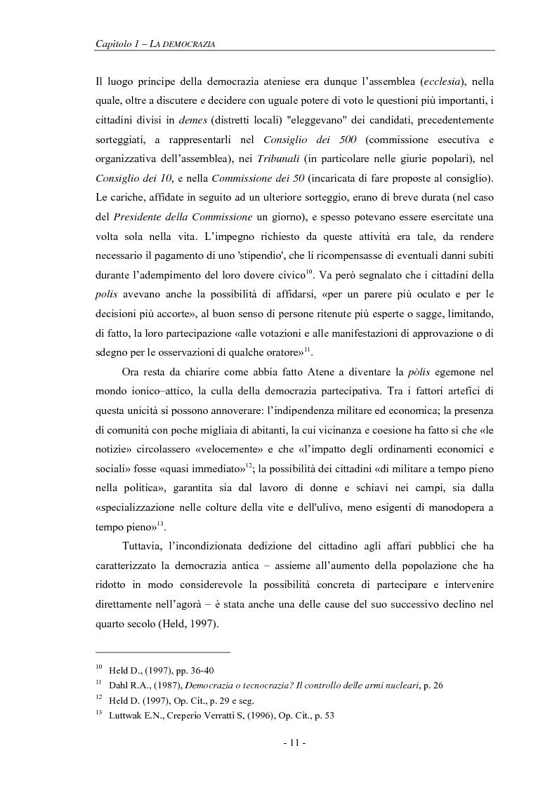 Anteprima della tesi: La pianificazione partecipativa: teorie e tecniche. Un esempio di integrazione di diversi strumenti: GioCoMo., Pagina 8
