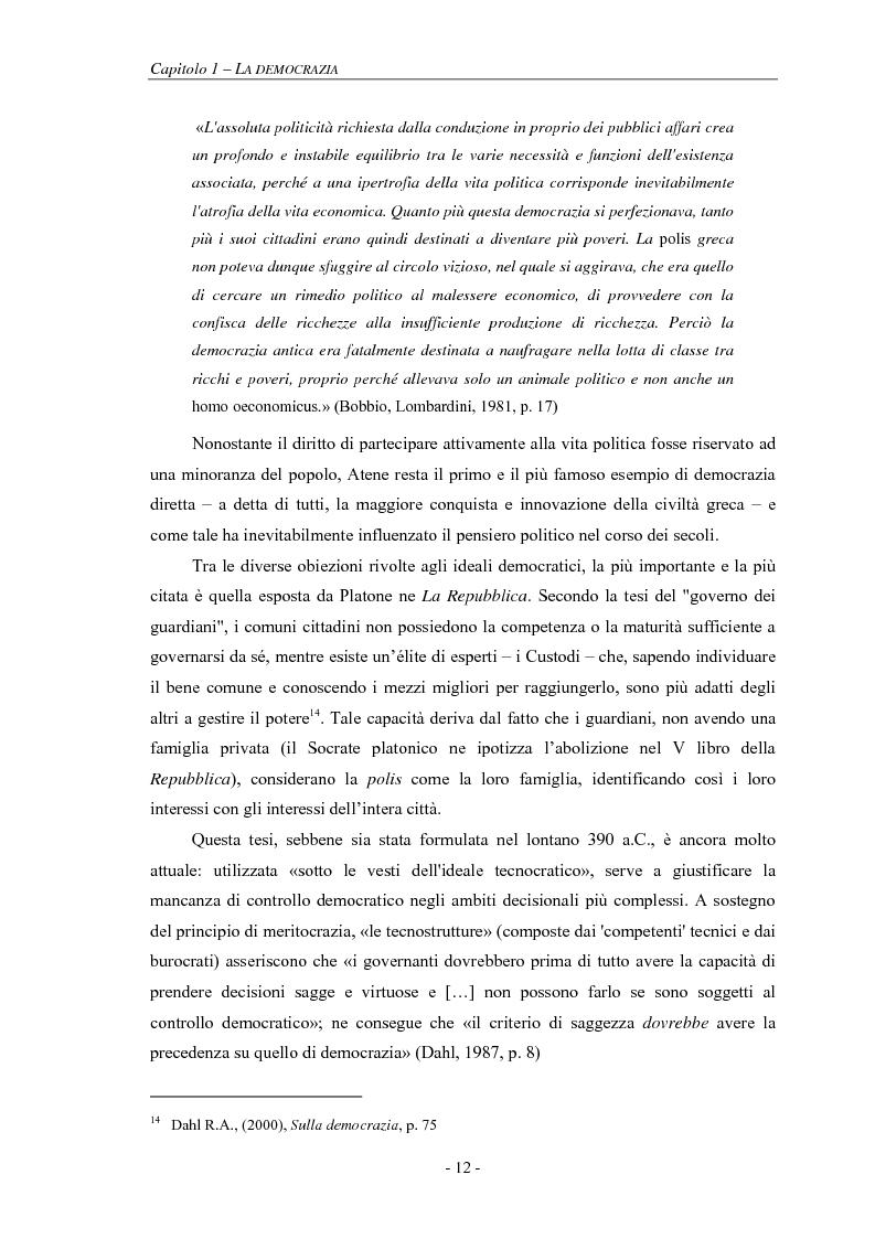 Anteprima della tesi: La pianificazione partecipativa: teorie e tecniche. Un esempio di integrazione di diversi strumenti: GioCoMo., Pagina 9