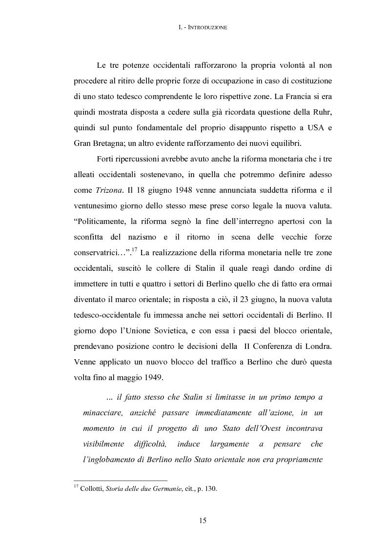 Anteprima della tesi: 16 - 17 giugno 1953: la rivolta operaia di Berlino-Est, Pagina 13