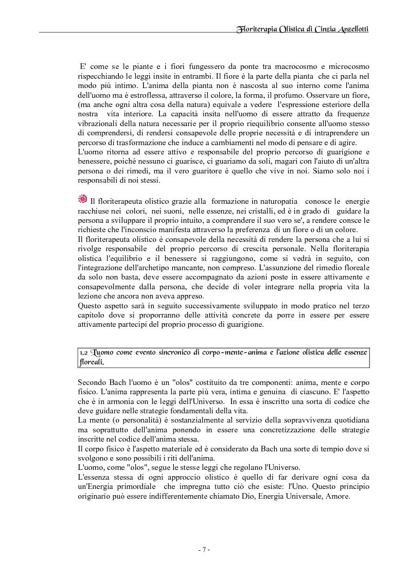 Anteprima della tesi: Floriterapia Olistica- I fiori di Bach per il naturopata RIZA, Pagina 3