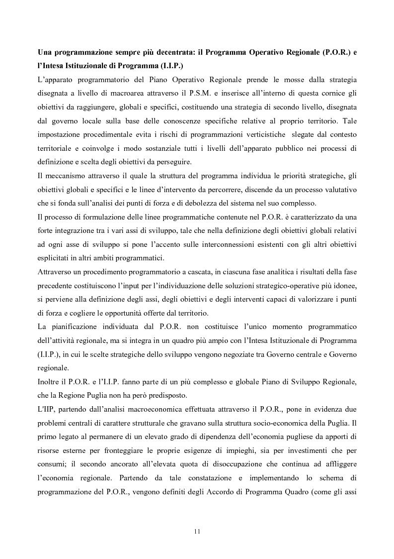 Anteprima della tesi: La ''montagna del sole'': proposte per la destagionalizzazione e la valorizzazione turistica del promontorio del gargano, Pagina 11