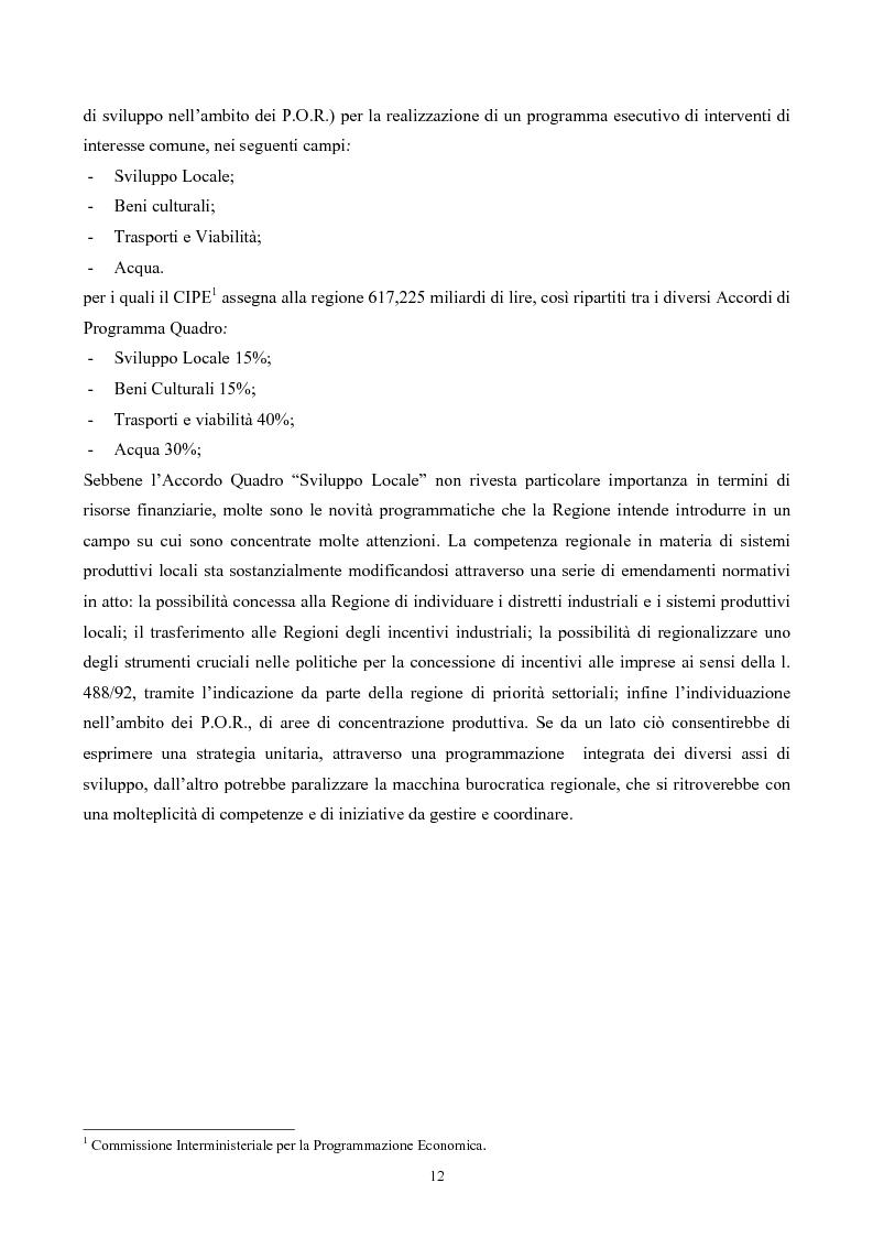 Anteprima della tesi: La ''montagna del sole'': proposte per la destagionalizzazione e la valorizzazione turistica del promontorio del gargano, Pagina 12