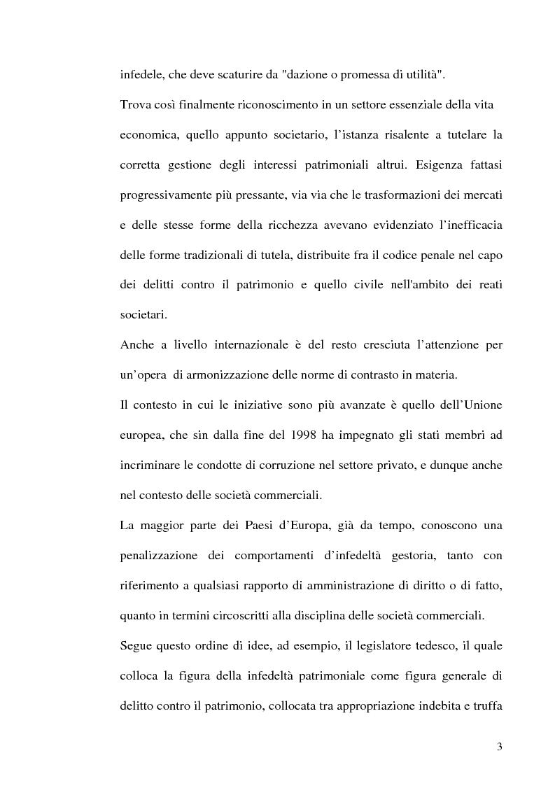 Anteprima della tesi: Le fattispecie di Infedeltà, Pagina 3