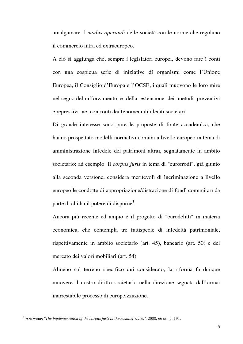 Anteprima della tesi: Le fattispecie di Infedeltà, Pagina 5