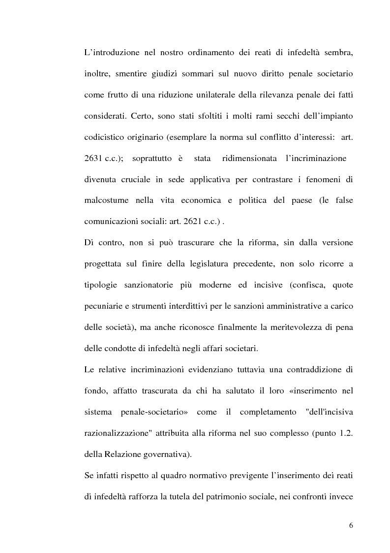 Anteprima della tesi: Le fattispecie di Infedeltà, Pagina 6