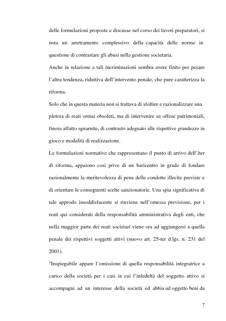 Anteprima della tesi: Le fattispecie di Infedeltà, Pagina 7