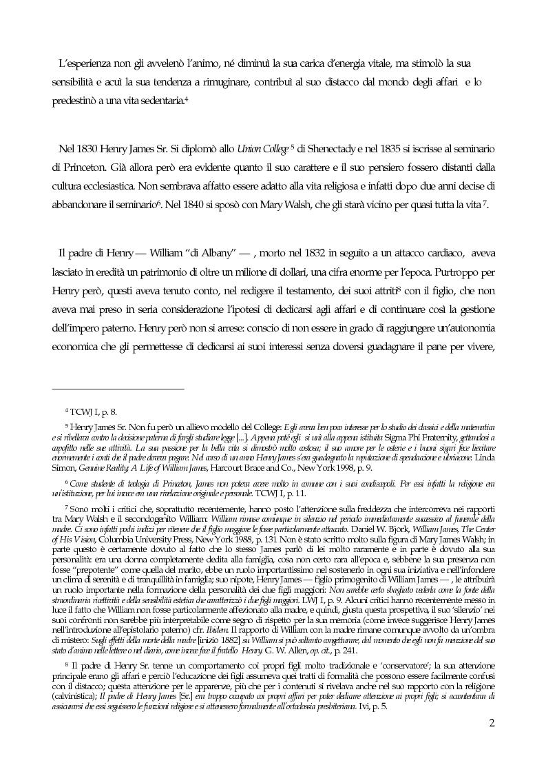 Anteprima della tesi: William James, filosofo della libertà, Pagina 4