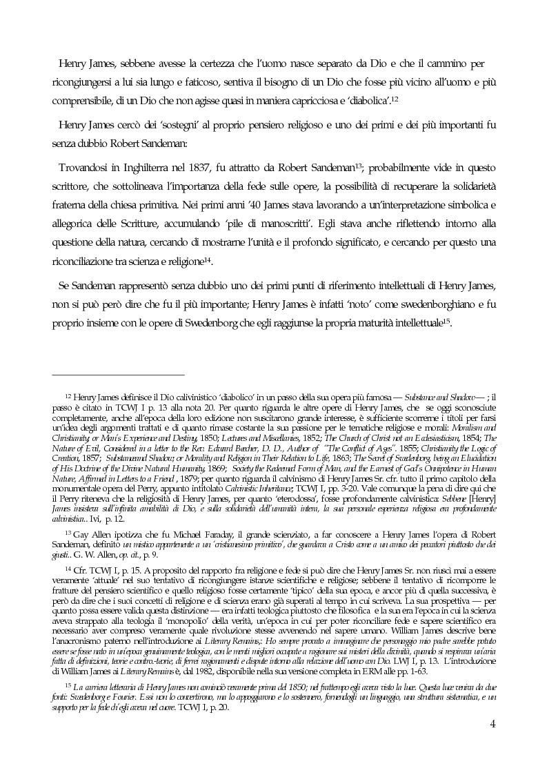 Anteprima della tesi: William James, filosofo della libertà, Pagina 6