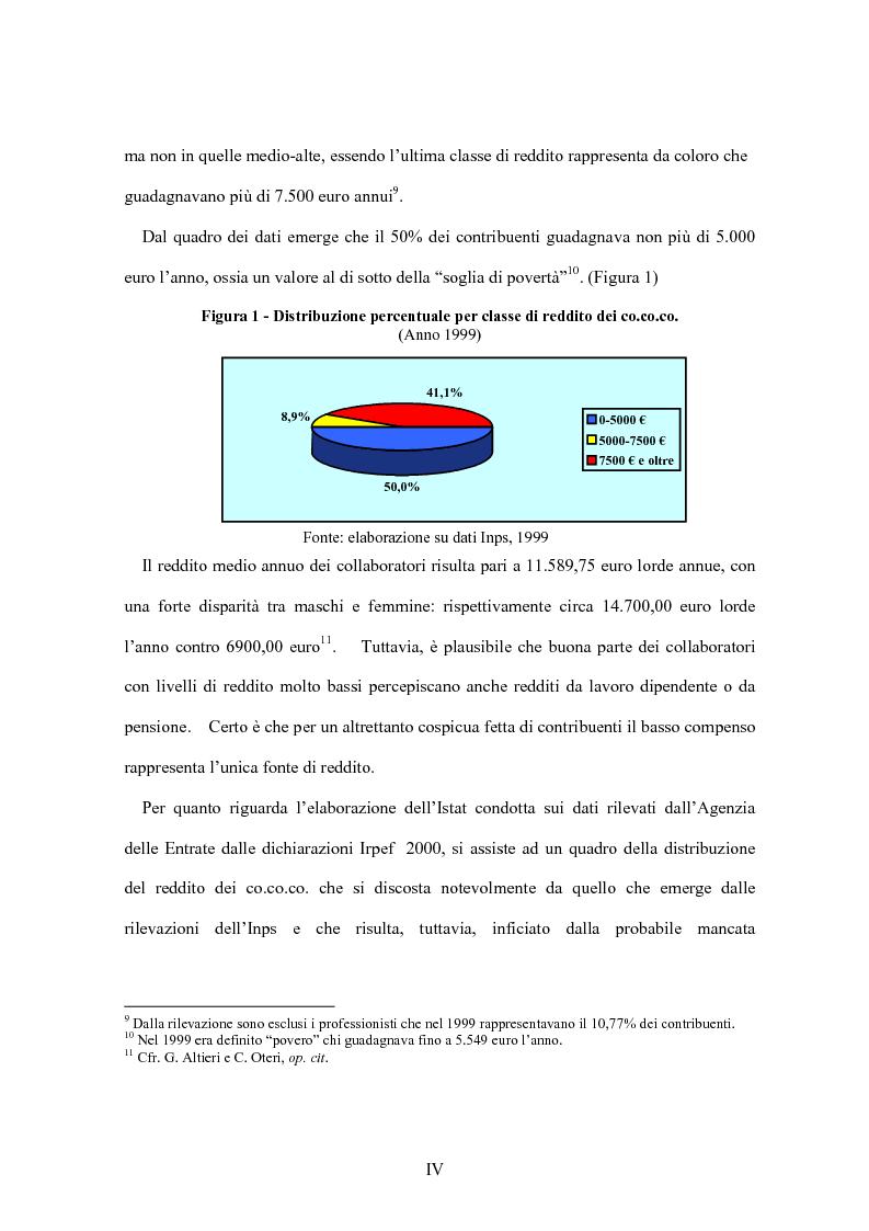 Anteprima della tesi: La flessibilità del mercato del lavoro italiano. Profili giuridici ed effetti socio-economici., Pagina 4