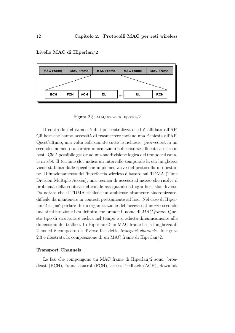 Anteprima della tesi: Un protocollo MAC multicanale per reti wireless ad-hoc, Pagina 10