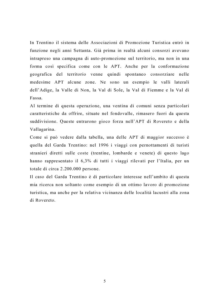 Anteprima della tesi: L'impatto socioculturale del turismo: il Mart di Rovereto, Pagina 5
