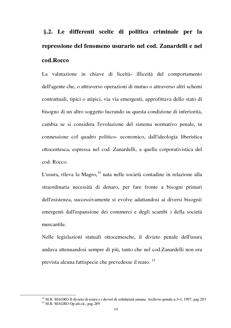 Anteprima della tesi: Il mutuo ad interesse usurario, Pagina 11